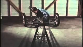 Tommy Ivo building his 1965 dragster