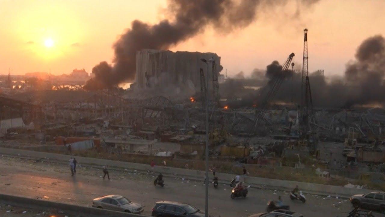 EN DIRECTO: Gran explosión en Beirut. Al menos hay 10 muertos y decenas de heridos