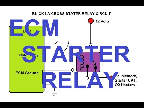 How to Fix Buick LaCrosse Starter Relay Wiring