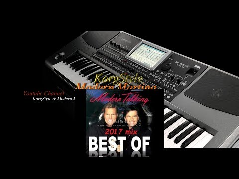 Modern Talking &  Korg Style-Do You Wanna (Korg Pa 900)Remix 2015
