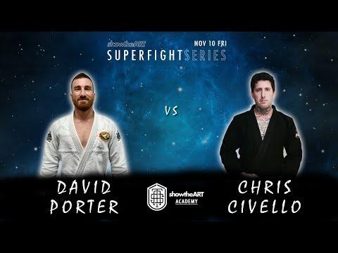 David Porter x Chris Civello   Intense SUB-Only No TIME LIMIT GI Match!!