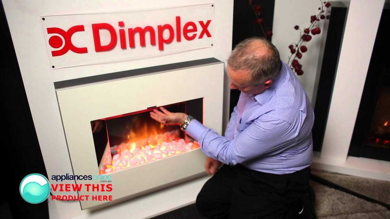 expert explains features of the dimplex clova wall mounted