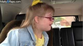 MattyB Interviews Sarah Grace in Car