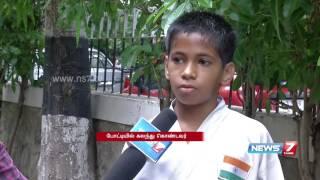 National level karate championship at Chennai | News7 Tamil