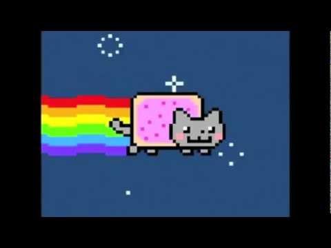 Nyan Cat [Dog's REACTION] - YouTube Nyan Dog