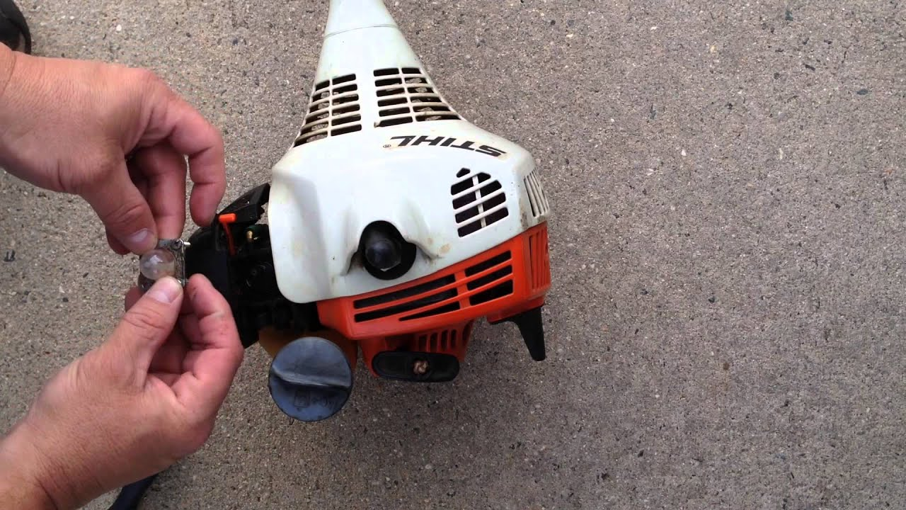 Stihl Fs55 Primer Bulb Replacement How To Replace A