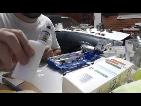 Dremel metal polishing with 400 800 1200 2000 grit paper