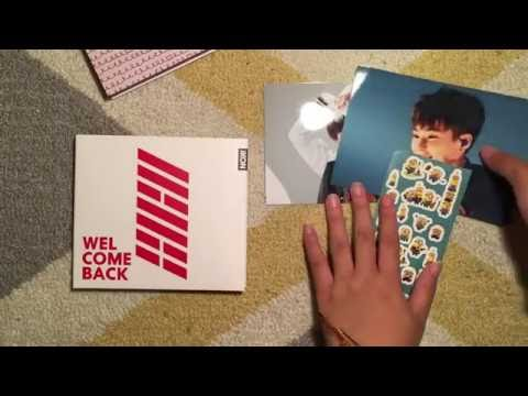 Ikon Welcome Back Japanese Edition Unboxing