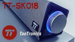 TaoTronics PC SOUNDBAR TT-SK018 im Musik-Test | Günstiger USB Computer LAUTSPRECHER | UNBOXiNG