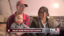 Las Vegas home prices continue to soar
