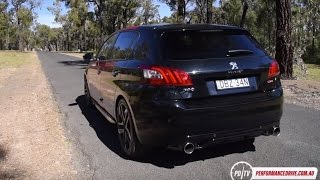 2016 Peugeot 308 GTi 270 0-100km/h & engine sound