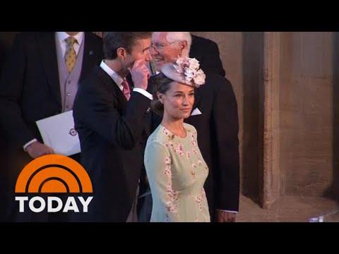 Pippa Middleton Arrives At Windsor Castle For Royal Wedding   TODAY