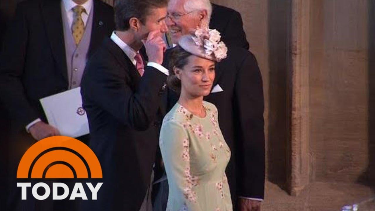 Pippa Middleton Arrives At Windsor Castle For Royal Wedding