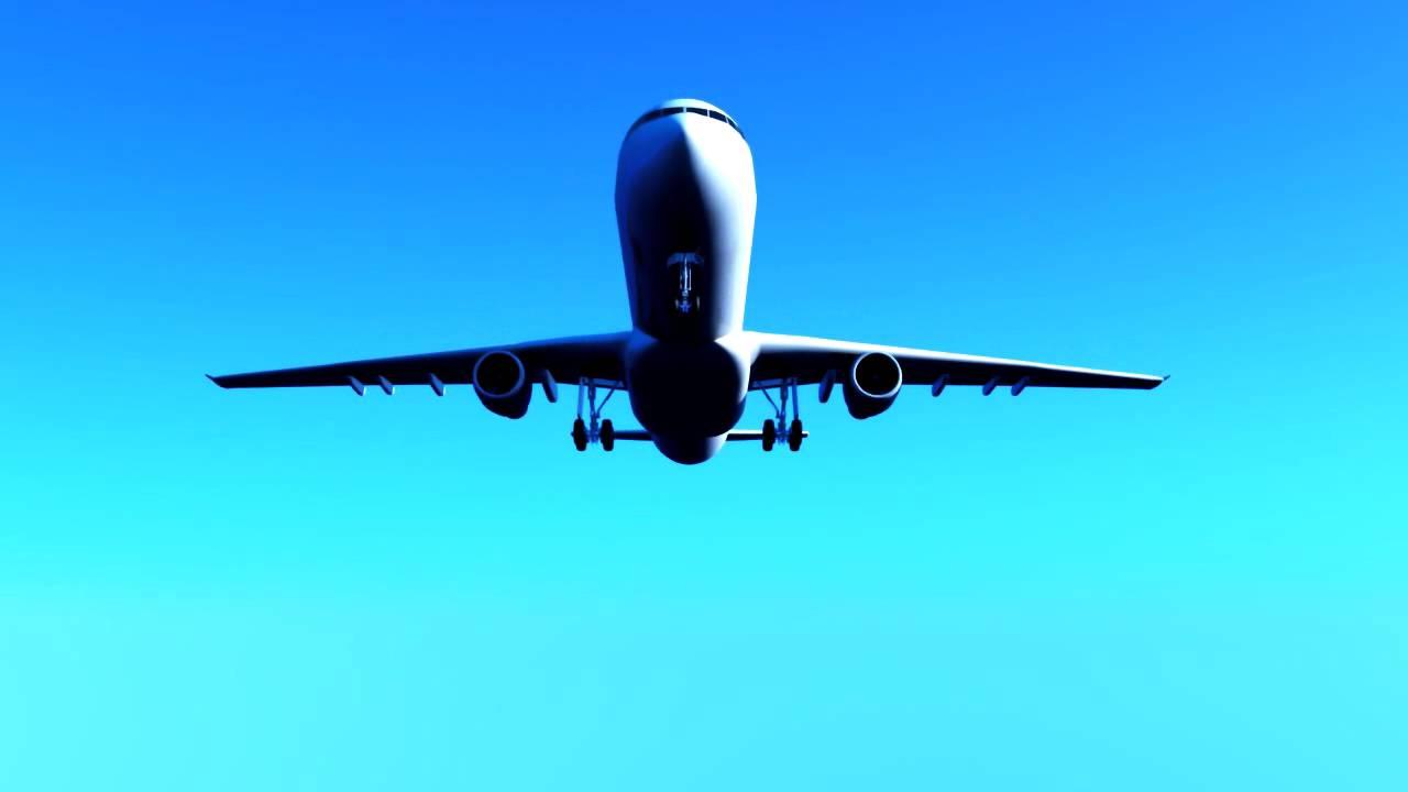 airplane animation - YouTube