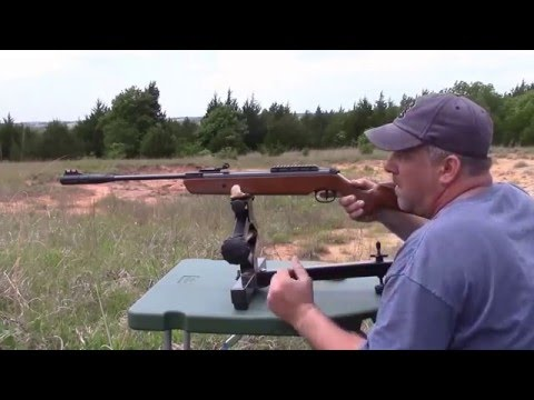 Shooting The Ruger Impact 22 Air Rifle With Silencair Technology At 30 Yards