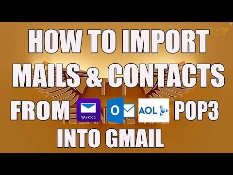 How To Import Emails & Contacts from Other Accounts Into Gmail