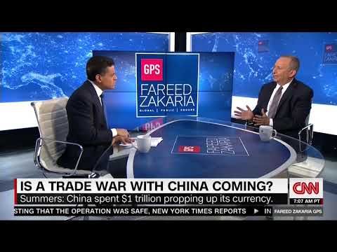 LARRY SUMMERS FULL INTERVIEW WITH FAREED ZAKARIA GPS (4/8/2018)