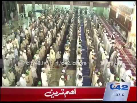 42 Report:   Tarawih prayer offered in Data Darbar grand mosque