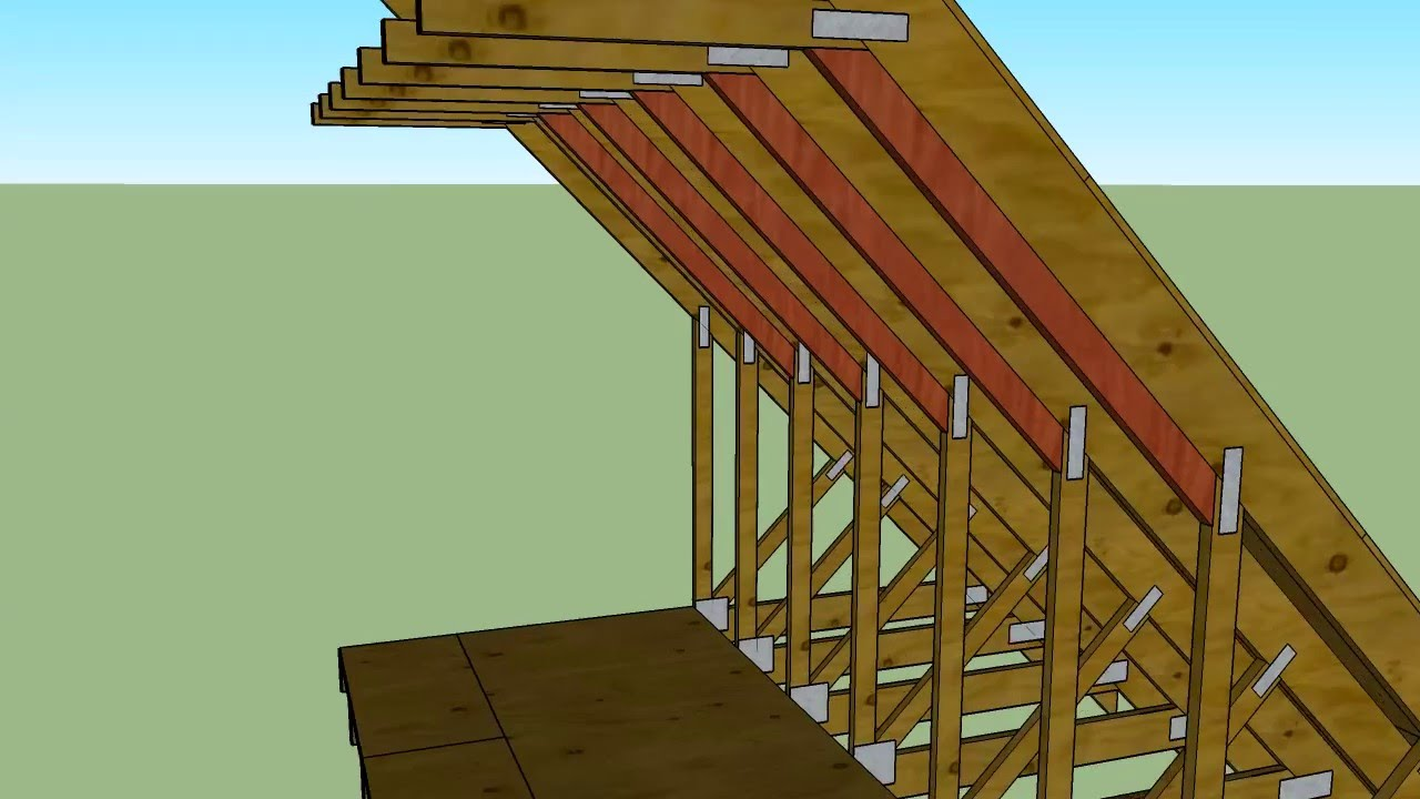 Truss Knee Wall Insulation Youtube