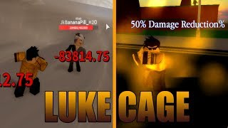 [CODE] LUKE CAGE SHOWCASE | Super Hero Adventures Online (Roblox) | (Code in DESC)