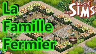 Les Sims 1 - Le Terrain Terminé De La Famille Fermier
