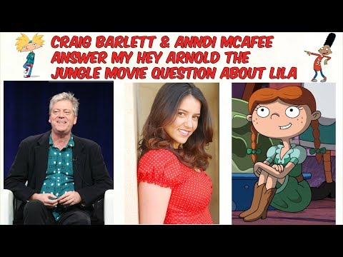 Craig Bartlett & Anndi McAfee answer my Hey Arnold question about Lila and Susie in the Jungle Movie