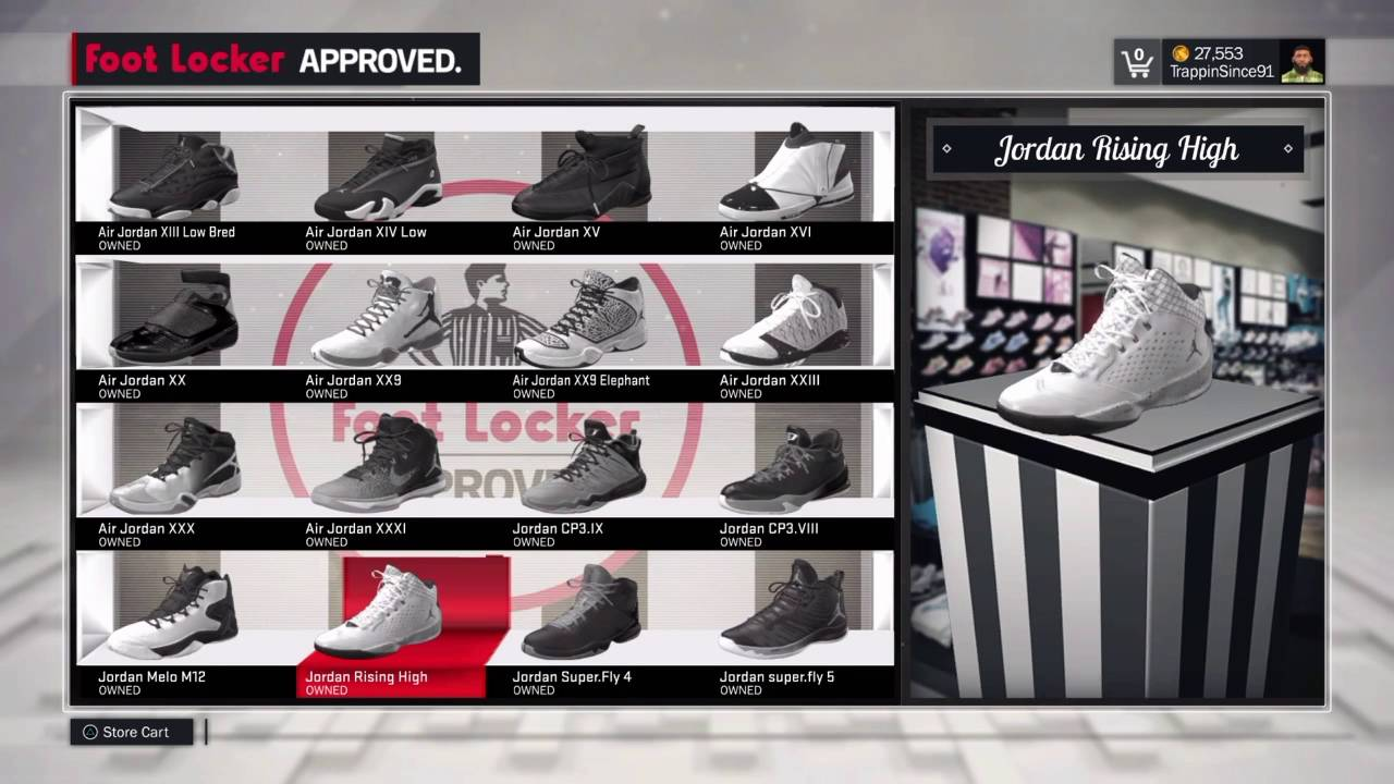 bfd1128993d NBA 2k17  How To Your Free Shoes - YouTube