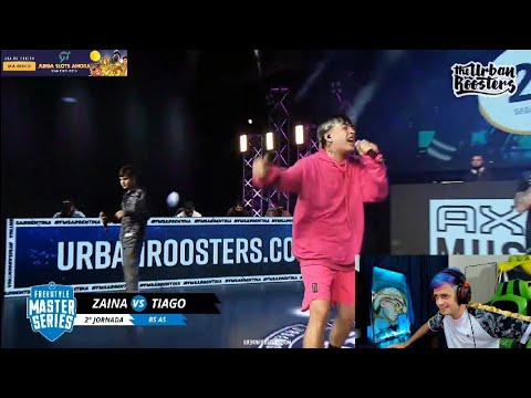 Download Markito Navaja Reacciona a Tiago vs Zaina | FMS Argentina Jornada 2