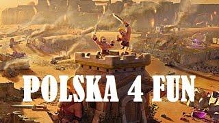 CLASH OF CLANS POLSKA - START OFICJALNEJ AKADEMII P4F !