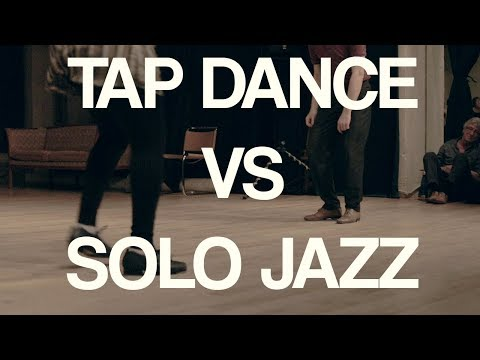 Tap Dance Vs Solo Jazz - Un Printemps de Swing 2018