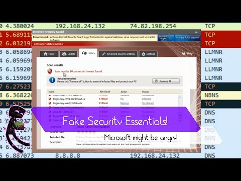 Alert! New Fake Microsoft Security Essentials!