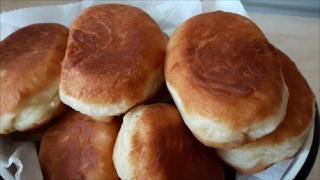ДОМАШНИЕ жареные ПИРОЖКИ на картофельном ОТВАРЕ с картофелем и печенью Рецепт теста Рецепт пирожков