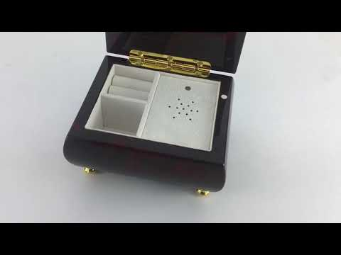 World's Most Customizable Musical Jewelry Box - Install Any Song, Recording, Composition