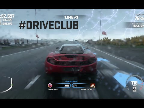 DriveClub Dynamic Weather Time Trials - STUNNING! (Ps4 Gameplay 1080p HD)