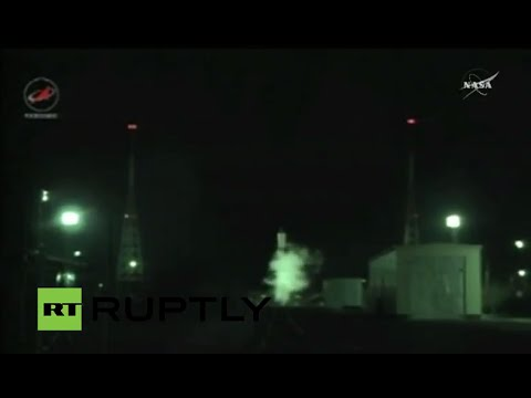 LIVE: Soyuz rocket launches unpiloted Progress 63P to ISS
