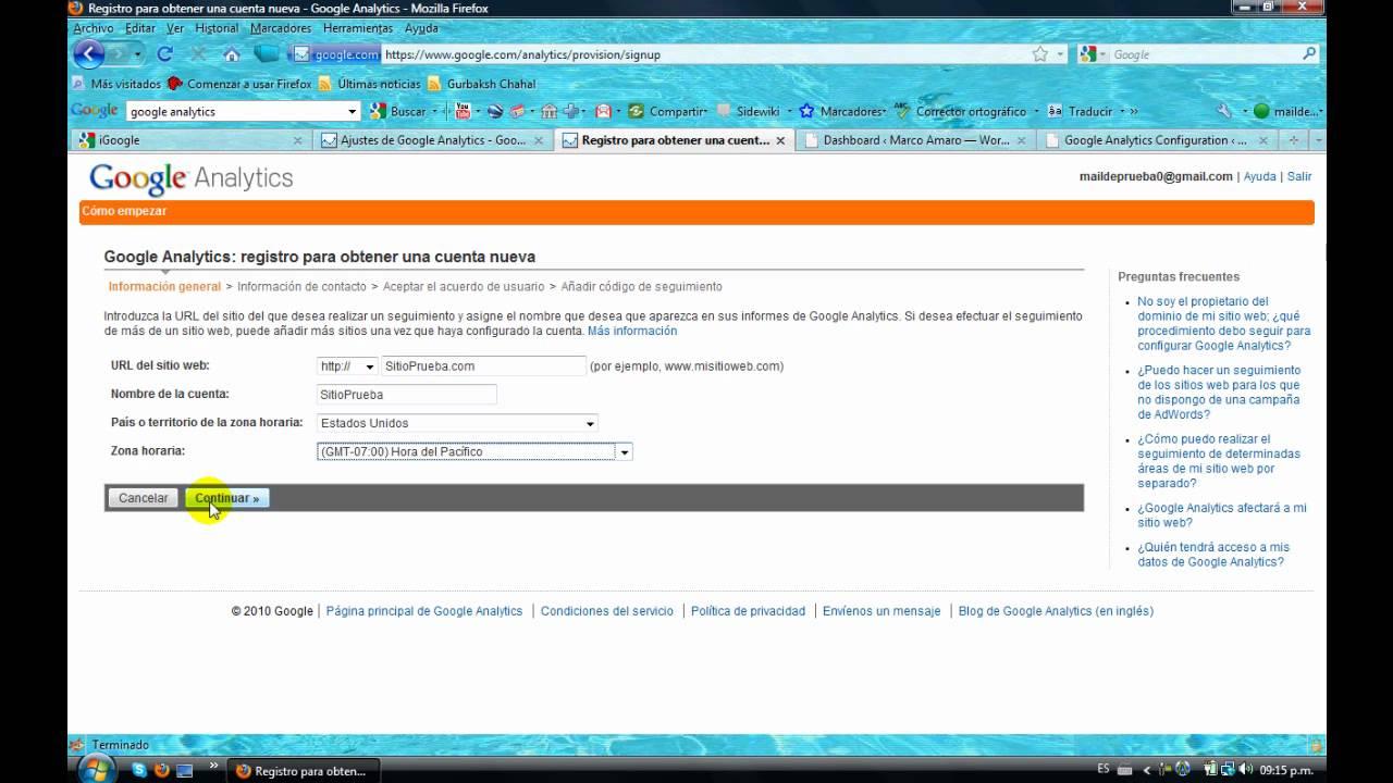Contador de Visitas Web - YouTube