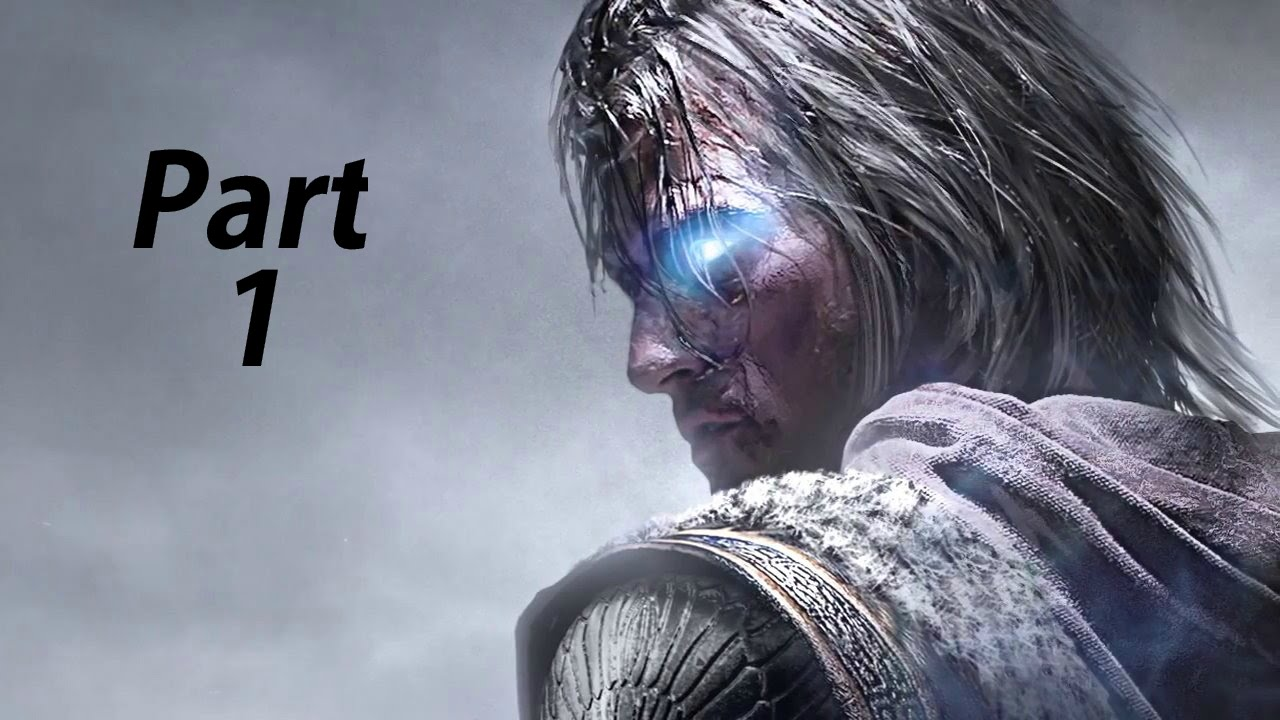 Middle Earth Shadow of Mordor Gameplay Walkthrough Part 1- Talion  (XBOX ONE Gameplay)