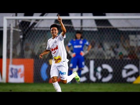 Santos 2 x 0 Corinthians | GOLS | Copa do Brasil (19/08/15)