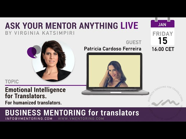 Ask Your Mentor Anything with Virginia Katsimpiri FT. Patrícia Cardoso Ferreira