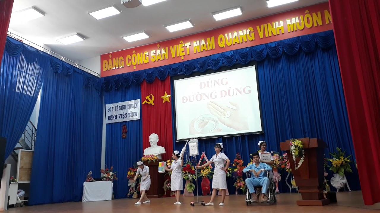 Hoạt cảnh múa 5 đúng - Bệnh viện đa khoa tỉnh Ninh Thuận