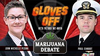 Heated Marijuana Debate - Gloves Off with Patrick Bet-David - Ep 1