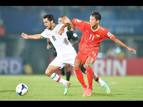 Myanmar vs IR Iran: AFC U19 Championship 2014 (Group Stage)
