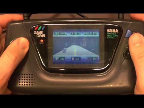 Classic Game Room - OUT RUN EUROPA review for Sega Game Gear