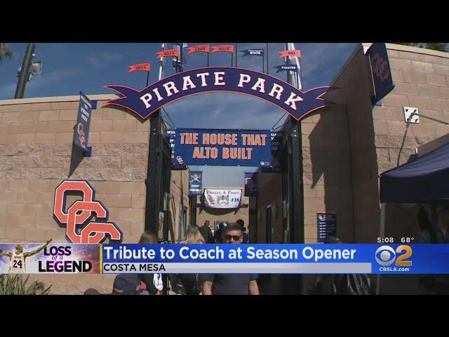 Orange Coast College Baseball Team Honors Altobelli Family Killed In Kobe Bryant Crash
