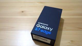 แกะกล่อง Samsung Galaxy S7 Edge ( unboxing )