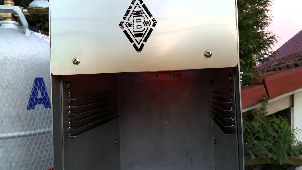 oberhitze grill eigenbau prototyp youtube. Black Bedroom Furniture Sets. Home Design Ideas