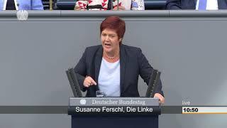 Susanne Ferschl, DIE LINKE: Mindestlohn erhöhen, Nideriglohn-Sumpf austrocknen!