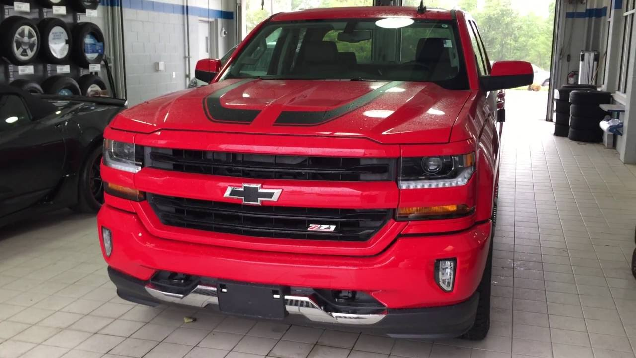 Chevy Silverado Rally Edition >> 2016 Chevrolet Silverado 1500 4WD Double Cab LT Red Hot Roy Nichols Motors Courtice ON - YouTube