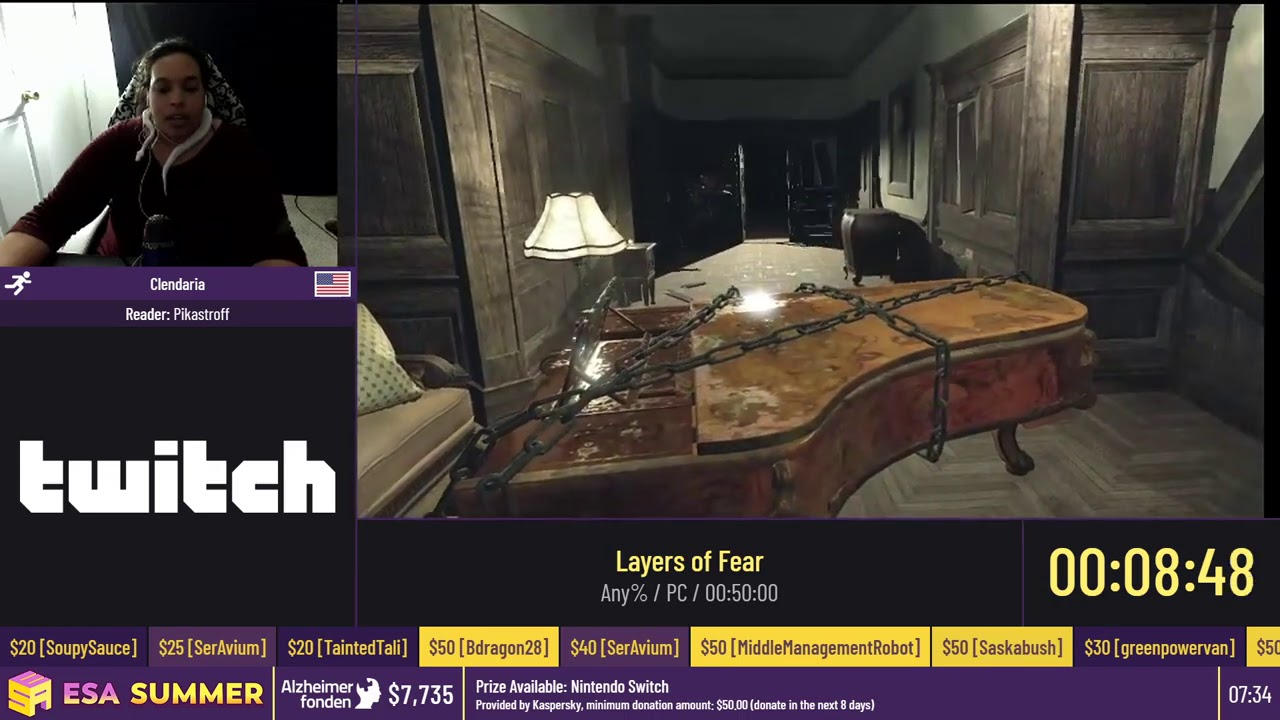 Layers of Fear [Any%] by Clendaria - #ESASummerOnline