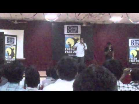 HIPHOP TAMIZHA Adhi's live performance at MNM jain engg college